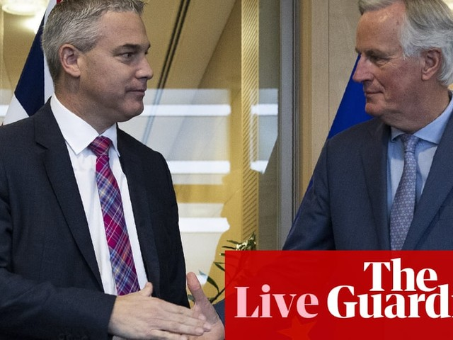 Brexit: Johnson refuses to rule out NI staying in customs union – live news