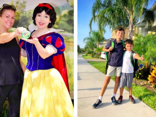 Mom Celebrates Kids Going Back to School by Hitting Up Disney World Without Them