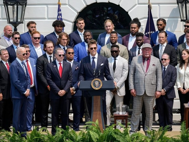 Did Tom Brady Joke About Election During White House Visit?