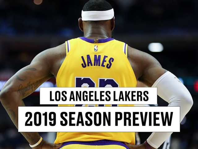 Lakers season preview 2019-2020