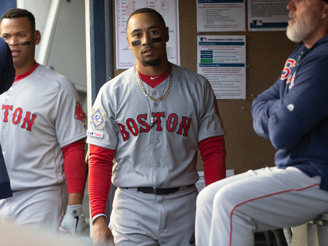 Red Sox feeling pain of Mookie Betts blockbuster trade