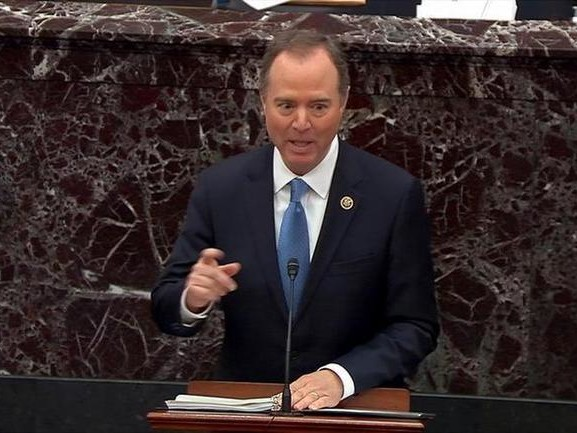 """Bullcrap"": Schiff Outrages GOP Senators With ""Head On A Pike"" Remark"