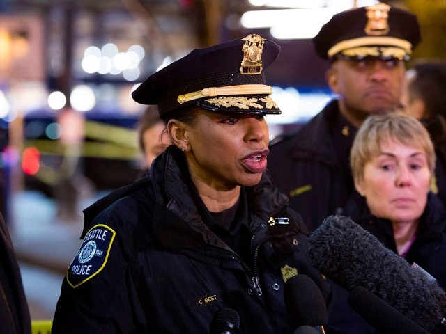 Seattle's top cop urges residents to call 911 if they hear 'racist name-calling'