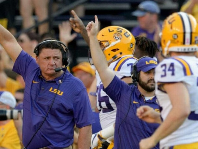 Ed Orgeron tells 'truth' about Ole Miss, says he wanted to be at LSU while in Oxford