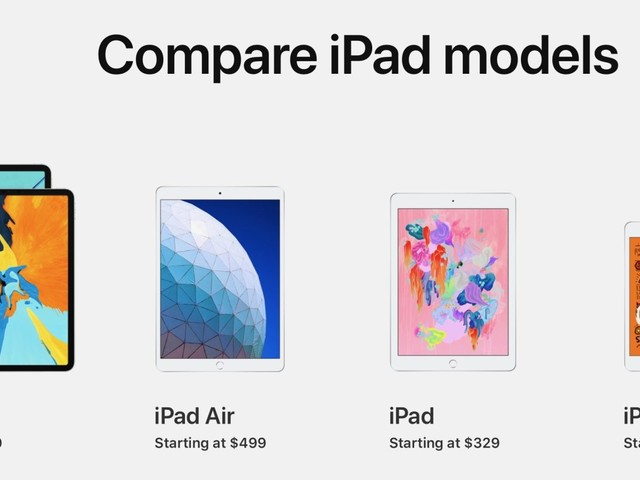 Which iPad should you buy? Here's how the new iPad Air compares to the rest of the lineup