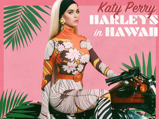 "Katy Perry Announces New Single ""Harleys In Hawaii"""