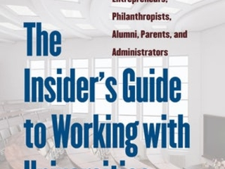 Authors discuss new book, 'The Insider's Guide to Working With Universities'