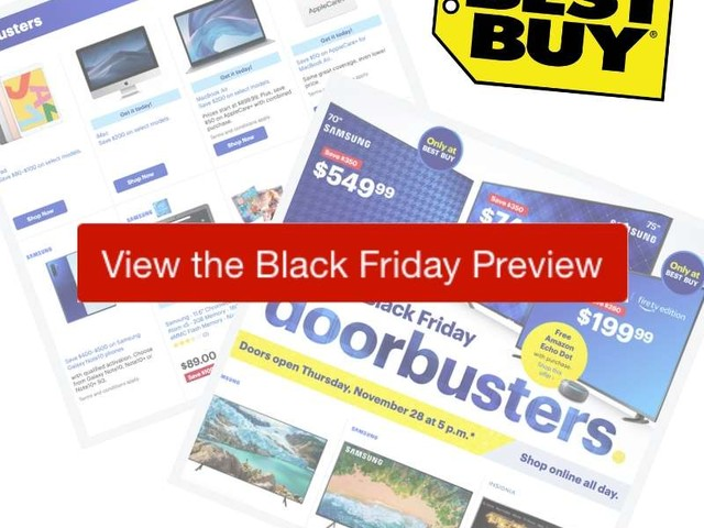 2019 Best Buy Black Friday Ad Preview