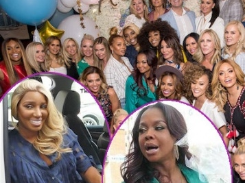 When 'Housewives' Link Up, They TURN All The Way UP! Go Inside Andy Cohen's Super LIT Baby Shower