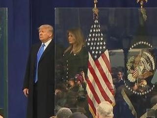 Trump pays tribute to veterans in New York speech