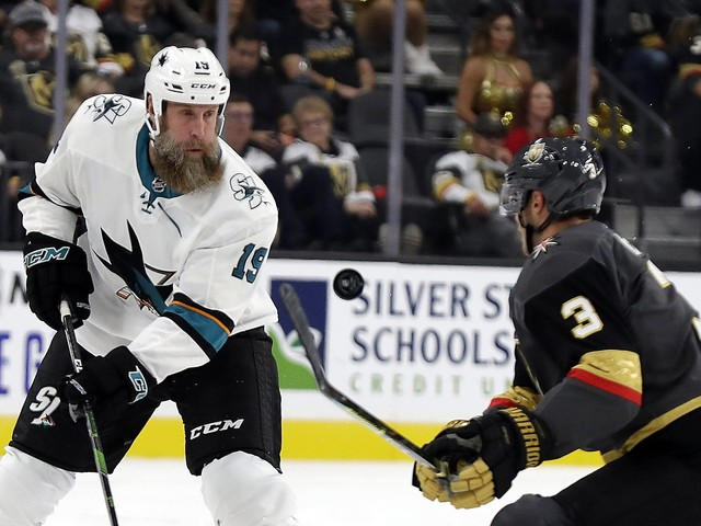 Sharks dominated on opening night in Vegas