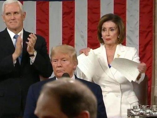 """""""We're On A Very Dangerous Path"""" - Pelosi's Page-Ripping 'Resistance' Is Harbinger Of Things To Come"""