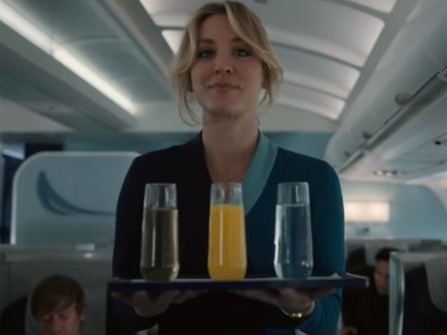 Kaley Cuoco's in Big Trouble in The Flight Attendant Trailer