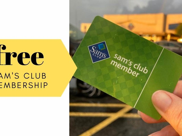 Free Sam's Club Membership Purchase After Gift Card