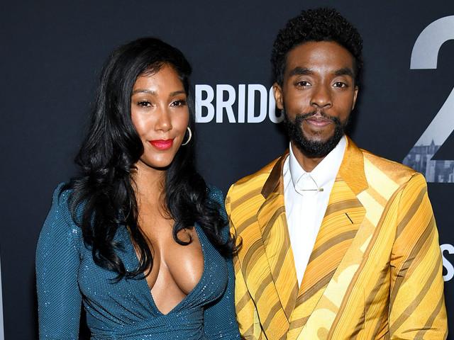 Chadwick Boseman Makes Rare Red Carpet Appearance with Girlfriend Taylor Simone Ledward!