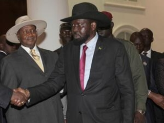 South Sudan's warring leaders meet to discuss peace accord