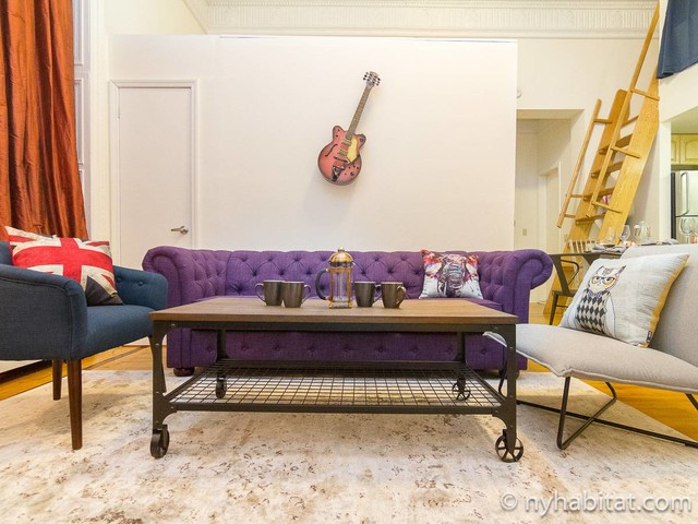 New York Apartment: Alcove Studio Apartment Rental in Midtown East (NY-17283)