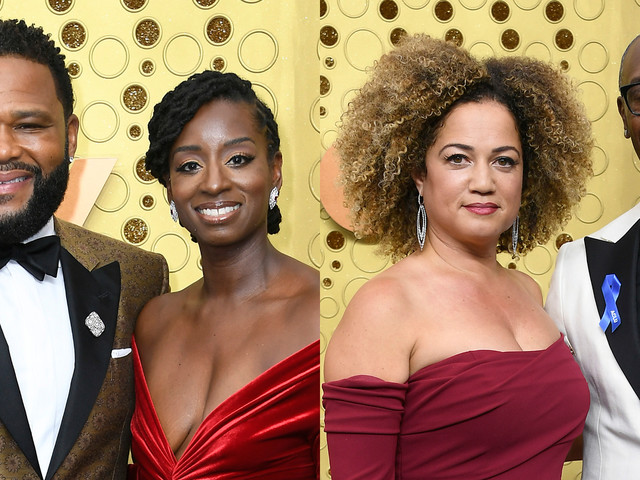 Anthony Anderson & Don Cheadle Are Joined By Their Loves at Emmy Awards 2019