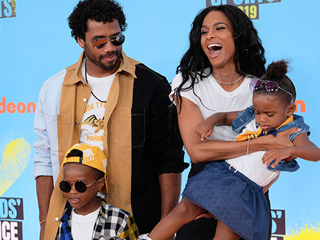 Ciara & Russell Wilson Spend A Magical Night At Disney With Kids Future, 5 & Sienna, 2