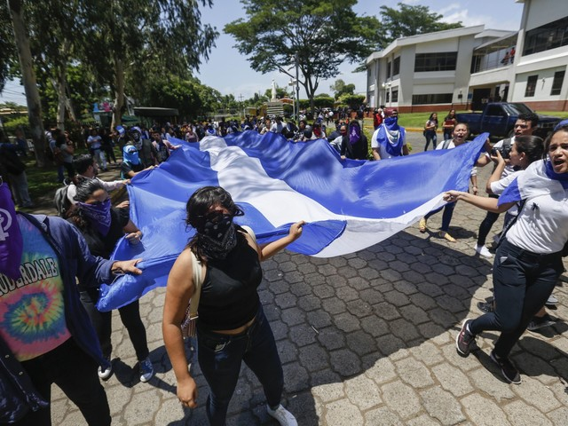 Nicaragua says released all considered political prisoners