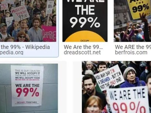 Praise The 1%! They Provide Improving Standards Of Living For The 99 Percent