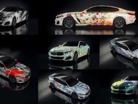 BMW Art Cars Exhibited