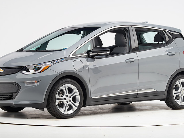 Chevrolet Bolt earns Top Safety Pick award