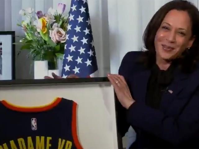 Warriors Post Video Tribute to Vice President Kamala Harris