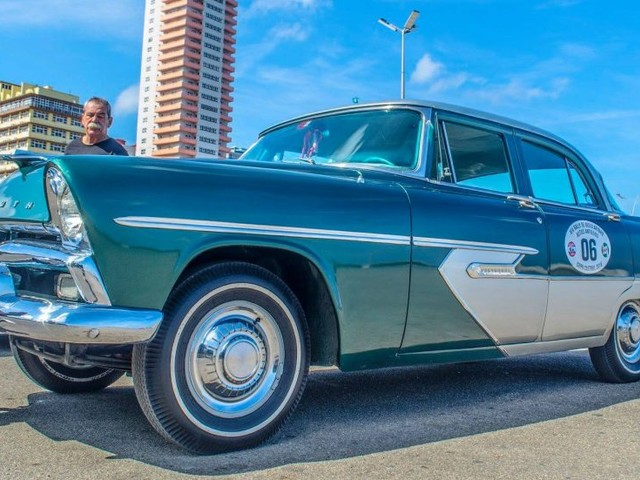Preserved 1956 Plymouth Belvedere wins Cuba's first modern concours
