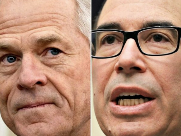 """Navarro And Mnuchin Get Into """"Knock Down, Drag Out"""" Oval Office Brawl Over TikTok Ban"""