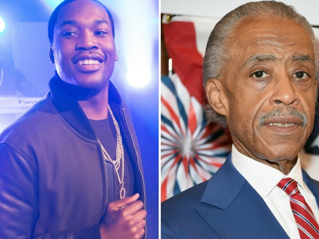 Rev. Al Sharpton visits Meek Mill in prison, says rapper represents victims of the justice system