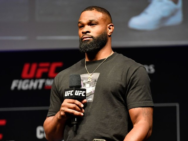 Former welterweight champ Tyron Woodley thinks YouTube star Logan Paul will sign with UFC
