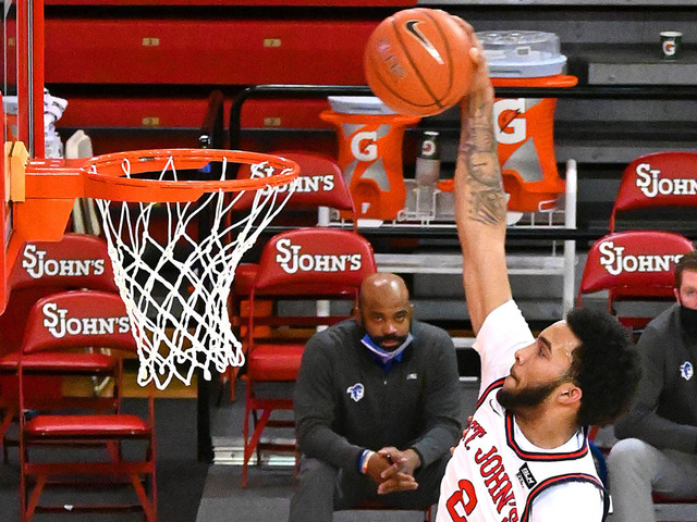 St. John's digs out of 18-0 hole to thump Seton Hall