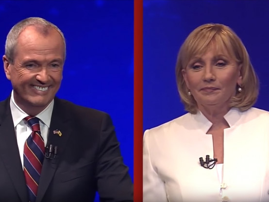 New Jersey Governor Debate Phil Murphy Sanctuary State Illegal Immigration Kim Guadagno
