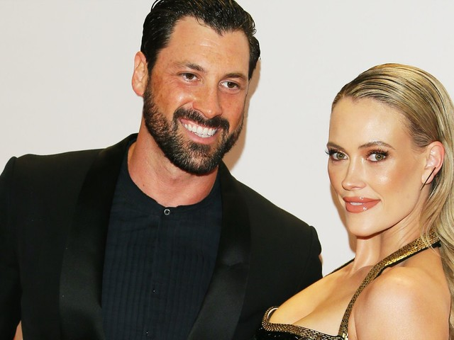 Maks Chmerkovskiy & Peta Murgatroyd Have A Very Cute Ring Bearer