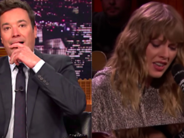 The Heartbreaking Reason Jimmy Fallon Cried Over This Taylor Swift Song