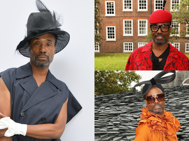 Billy Porter Rocks Show-Stopping Looks at London Fashion Week 2019!