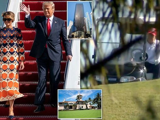 Donald Trump is $1bn in debt, an impeachment trial is due next week, criminal charges are possible