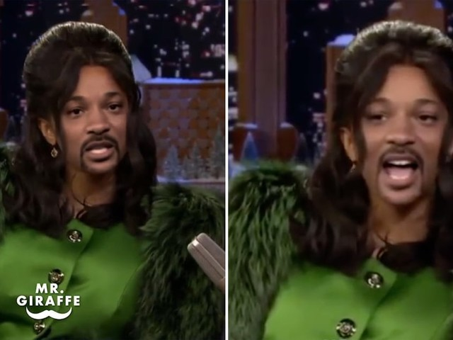 Someone Swapped Cardi B's Face For Will Smith's in This Video, and It's Hysterically Creepy