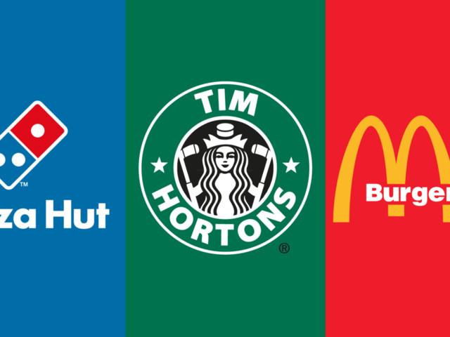 These Starbucks, Coca-Cola, and Domino's logo mash-ups will break your brain