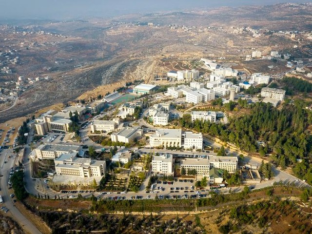 Groups protest Israeli visa policies for foreign academics teaching in the West Bank