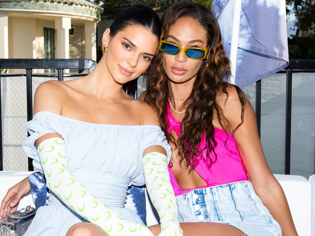 Kendall Jenner Hangs with Joan Smalls at the Revolve Festival