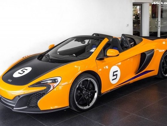 2016 McLaren 650S--Spider Can-Am Spider