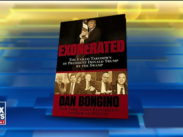 'Exonerated: The Failed Takedown of President Donald Trump by the Swamp' by Dan Bongino