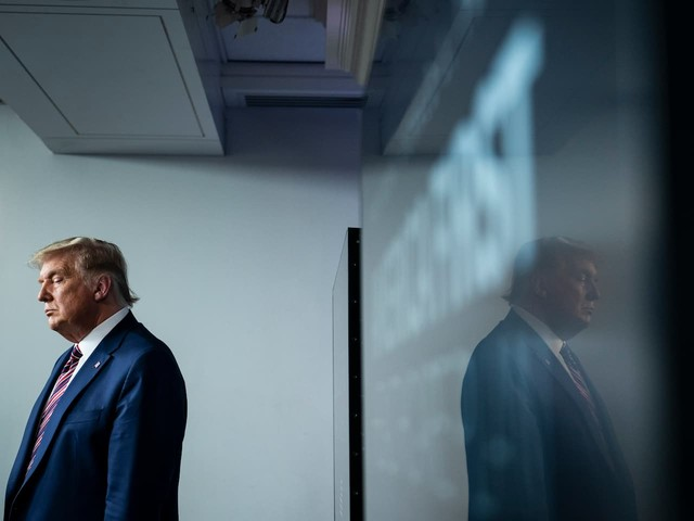 A vindictive Trump seeks to undermine Biden's presidency