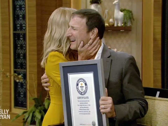 'Live with Kelly and Ryan' EP Michael Gelman now a Guinness World Record holder