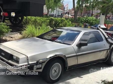The Most Expensive DeLorean Isn't Even A DeLorean