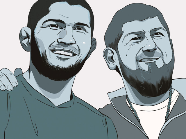 The Eagle and the Chechen Wolf