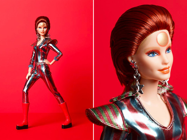 Mattel's David Bowie Barbie dressed as Ziggy Stardust sells out