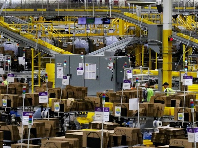 'MissionRacer': Amazon turns tedium of warehouse work into a game